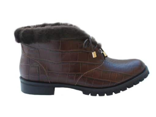 Genova Ankle Boots |  Brown