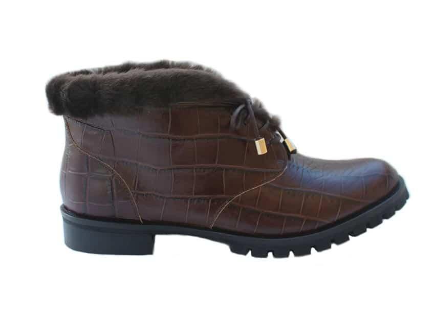 Genova Ankelstøvler Brun Barbro Shoes