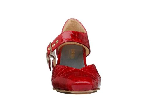 Windsor Pumps Rød lak fra Barbro Shoes