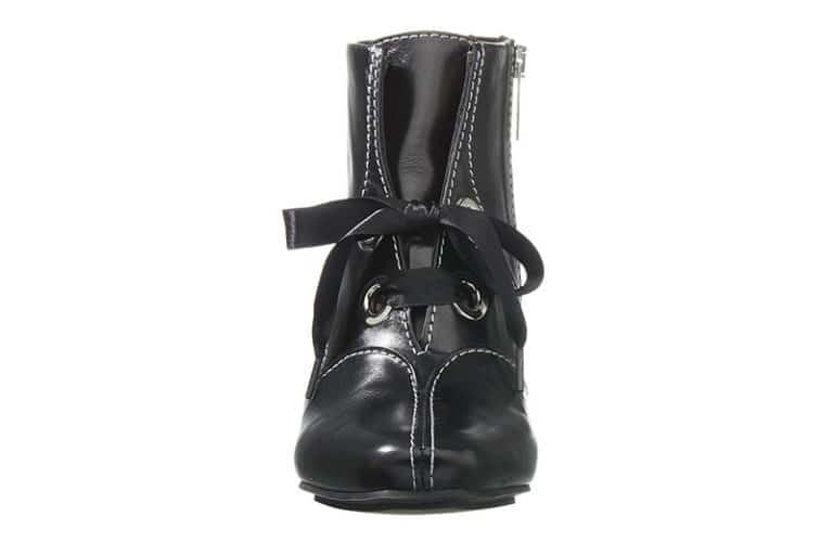 Hampstead Støvlet i Sort med dekorative stikninger fra Barbro Shoes 3