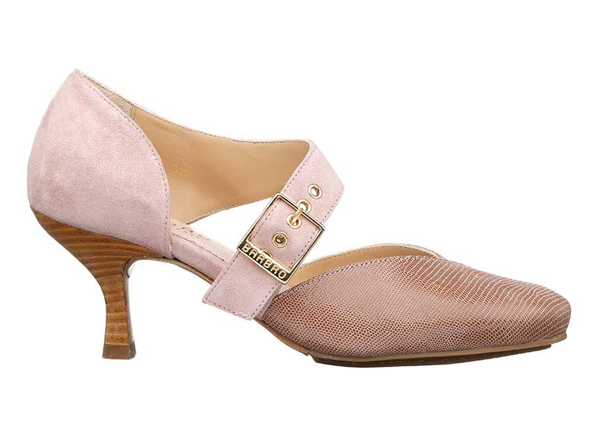 Windsor Pumps i pink fra Barbro Shoes