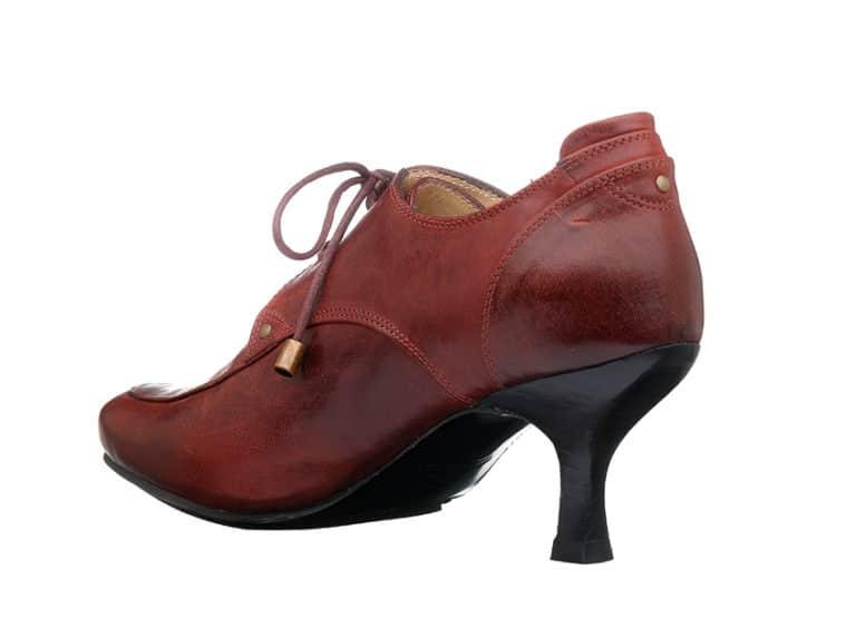 Washington DC pumps Vintage Rød fra Barbro Shoes