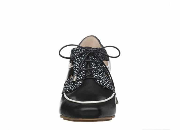 San Francisco pumps Sort med prikker fra Barbro Shoes 2