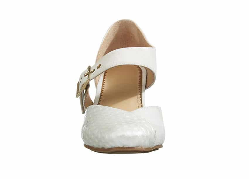 Windsor Pumps i Hvid fra Barbro Shoes 2