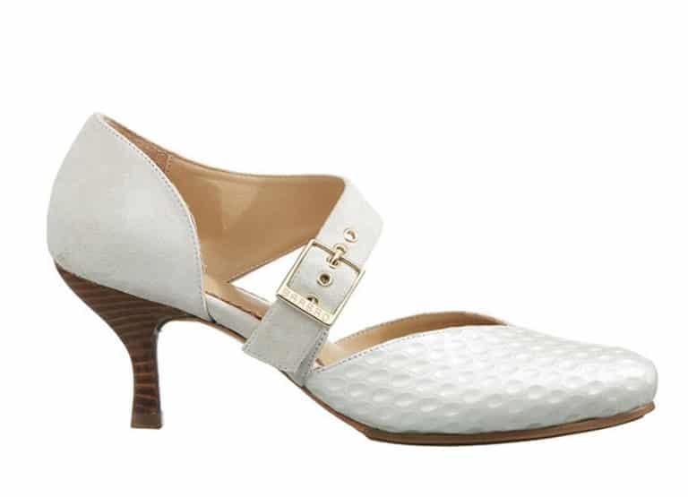 Windsor Pumps i Hvid fra Barbro Shoes