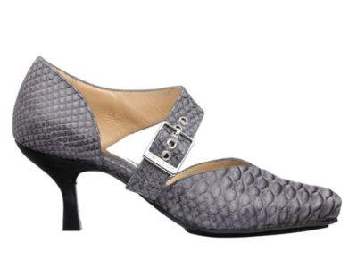 Grå pumps windsor Barbro Shoes