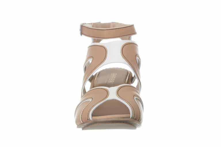 Firenze Beige sandal fra Barbroshoes1