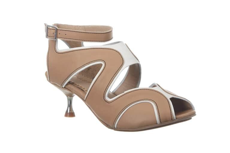 Firenze Beige sandal fra Barbroshoes2