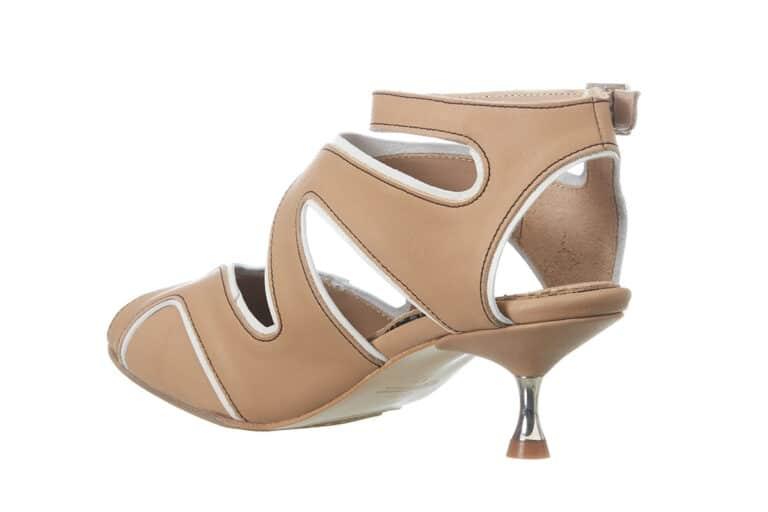 Firenze Beige sandal fra Barbroshoes3