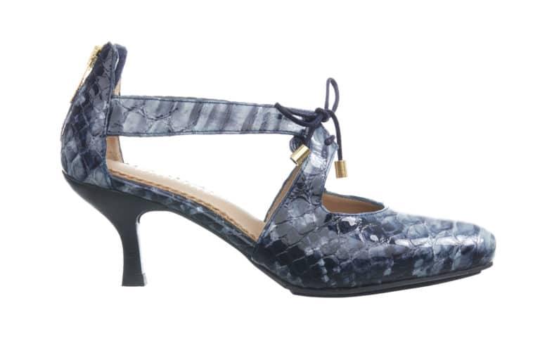 BARBRO Shoes-pumps-blaa-crocco