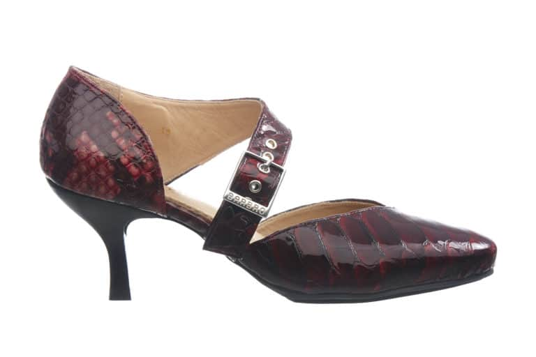 BARBRO Shoes-pumps-vin-roed