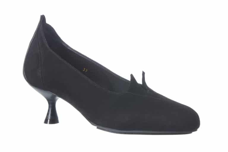 Sort Milano pumps Barbroshoes
