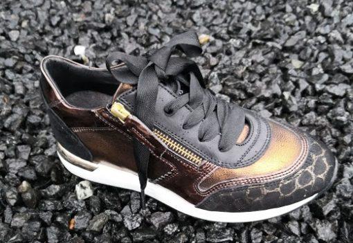 Sneakers Dlsport sort og bronze