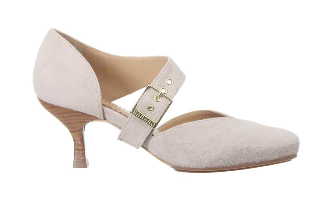 BarbroShoes nude rose pink pumps